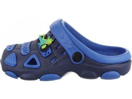 Detské šľapky modré