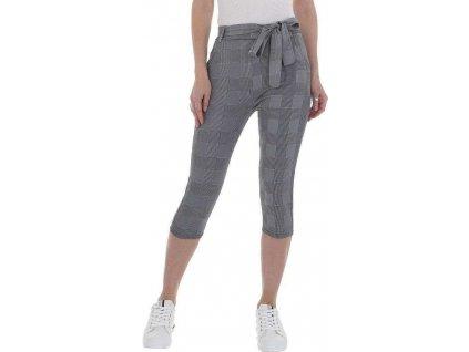 Dámske capri nohavice šedé DM316