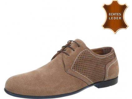 Pánske kožené topánky sand S24