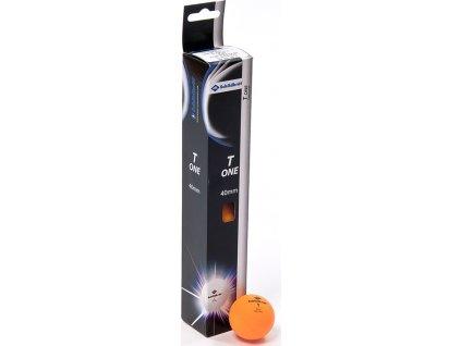 Loptičky na stolný tenis Donic T-ONE oranžová 6 kusov