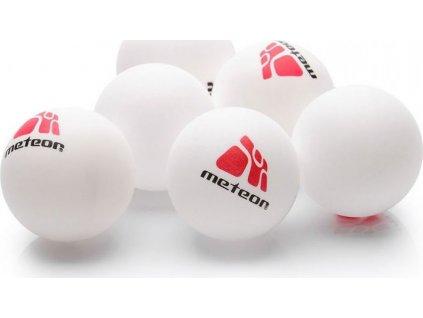 Sada 6 loptičiek na stolný tenis Meteor 15028
