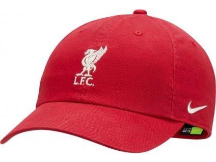 Šiltovka Nike LFC H86 CAP czerwona DH2392 687