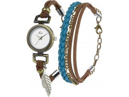 Hodinky Hippie Chic Gift Set Watch & Bracelet B-TI-HCSAPP