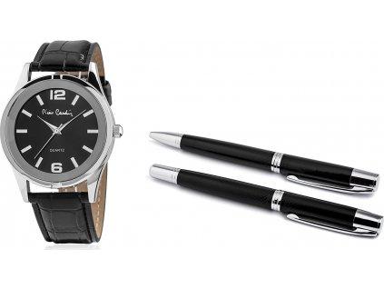Dámsky darčekový set Pierre Cardin Gift Set Watch & Pen PCX8357G28