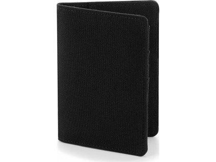 Puzdro Essential Passport, čierna