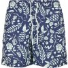 Pánske šortky C&S WL Leaves N Wires Swim Shorts