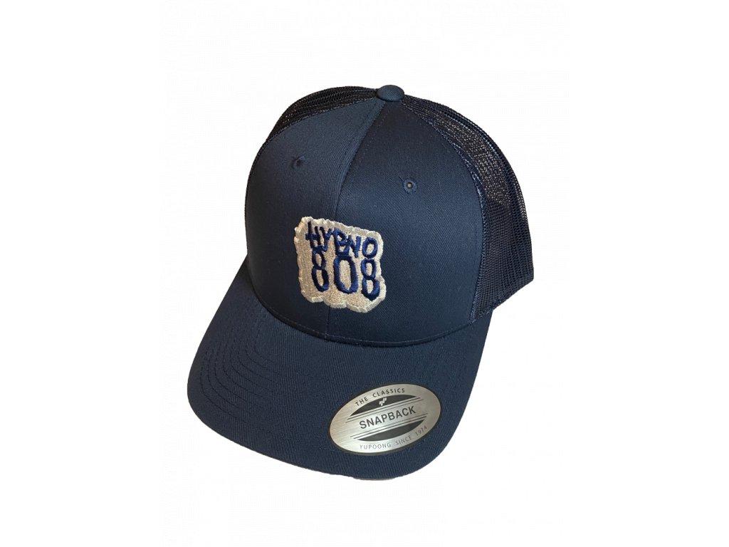 vinyl logo trucker blu