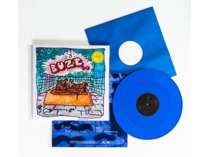 """12"""" HUGO TOXXX - BUZE / AQM (Blue Vinyl)"""
