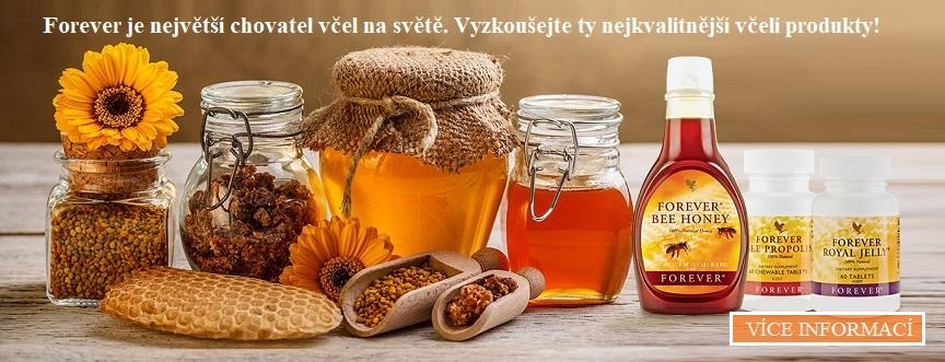 Včelí produkty od Forever