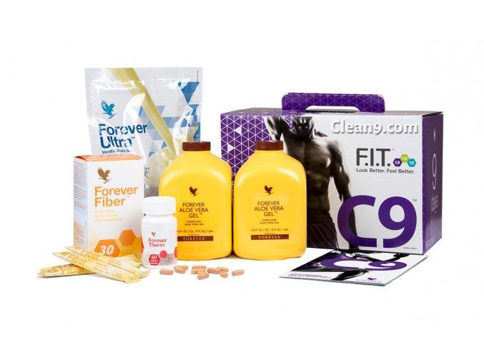 Hubnoucí a detoxikační 9 denní program Clean 9