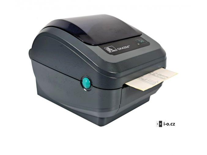 Tiskárna Zebra GK420d 2 webová verze