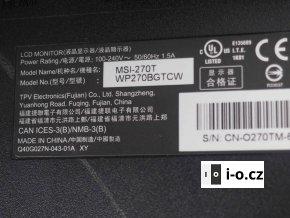 """Dotykový monitor 27"""" Motorola MSI-270T - zánovní"""