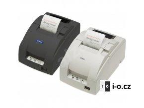 Pokladní jehličková tiskárna Epson TM-U220D - repasovaná