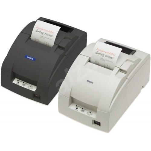 Pokladní jehličková tiskárna Epson TM-U220B - repasovaná Barva: Bílá, Rozhraní: Sériový port RS232