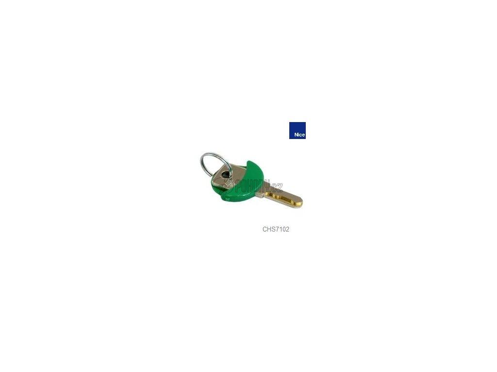 Klíč do zámku pro nouzové odblokování SBAR/MBAR/LBAR/HYKE