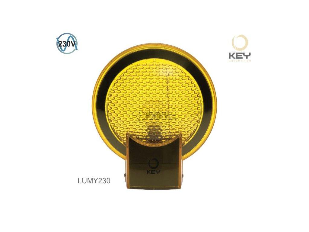KEY LUMY230 - výstražná lampa 230V se zabudovanou anténou