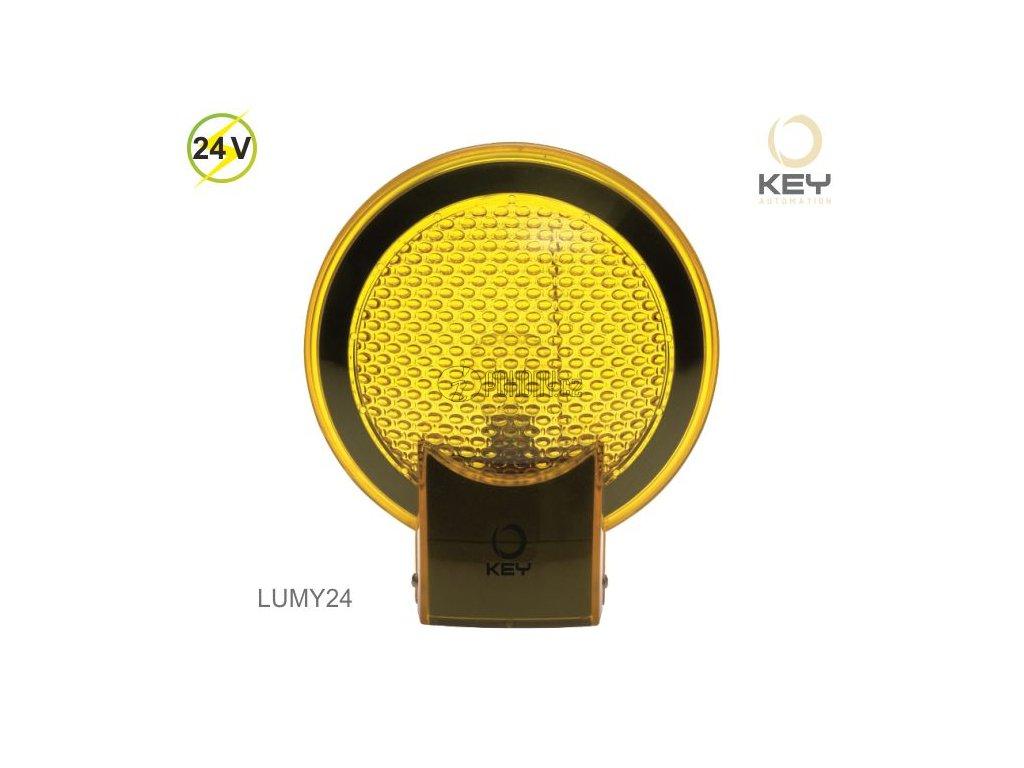KEY LUMY24 - výstražný maják 24V se zabudovanou anténou