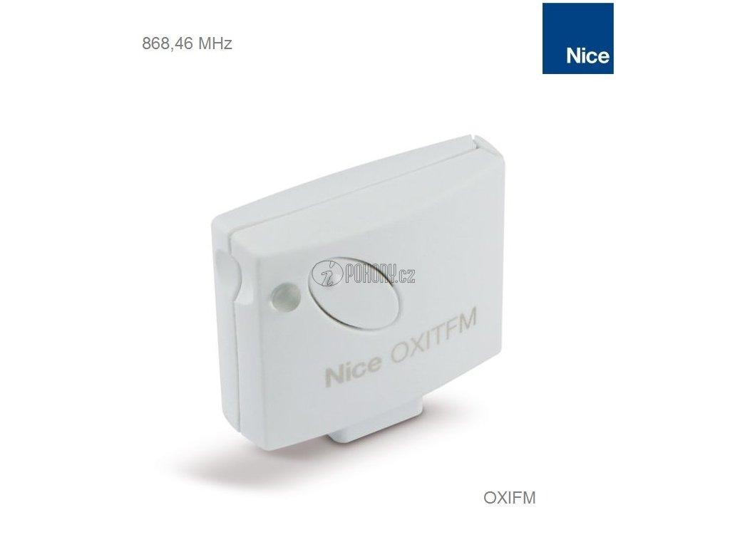 NICE OXIFM - zásuvný přijímač na frekvenci 868.46MHz