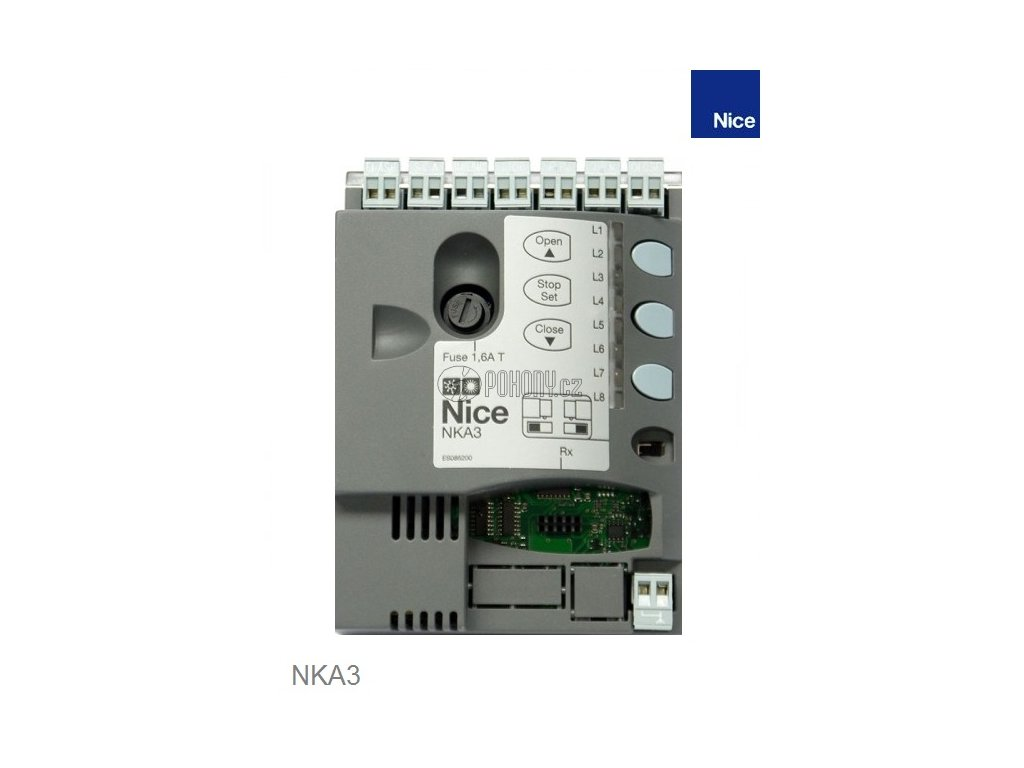 NICE NKA3 - Řídicí jednotka pro pohon NAKED SLIGHT/SKSL400