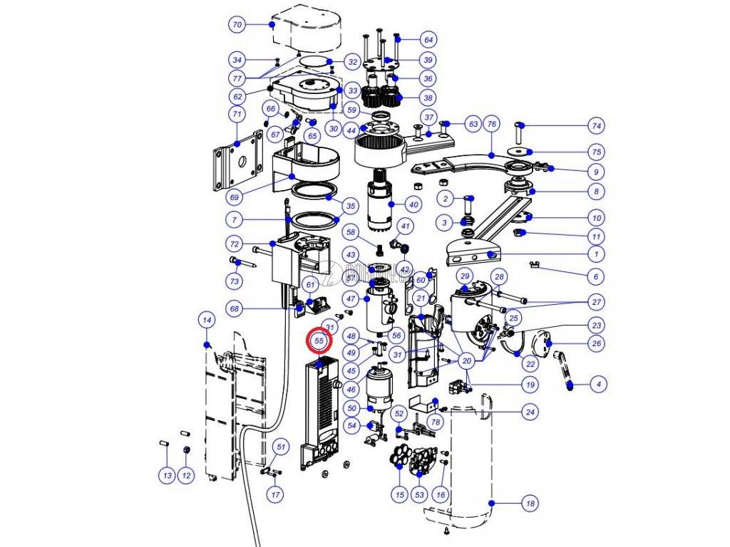 WLA1 - Řídicí jednotka pro pohon WALKY