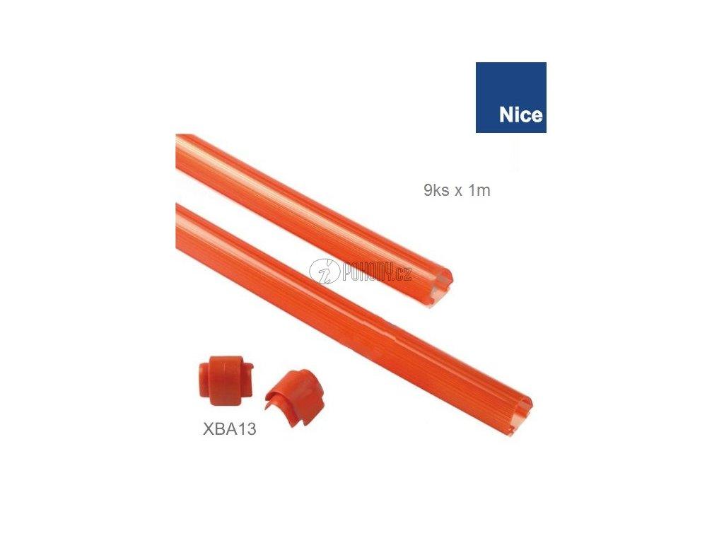 NICE XBA13 - Ochranné gumové lišty pro rameno XBA