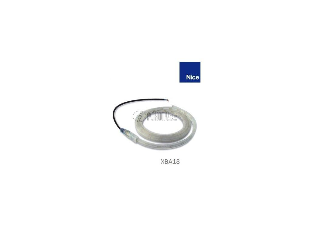 NICE XBA18 - Diodove výstražné světla do ramena XBA, L - 8 m