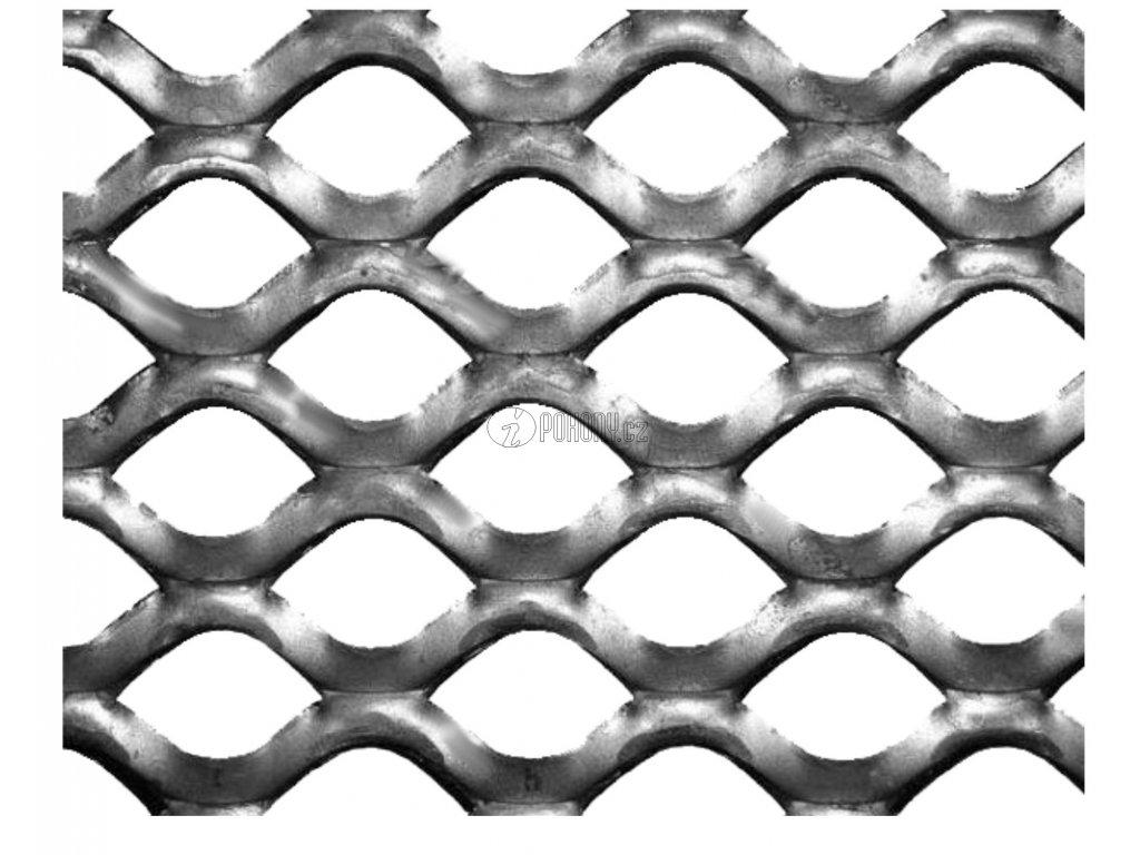 Tahokov Zn čtvercové oko: 20x15 mm, můstek: 1,7 mm