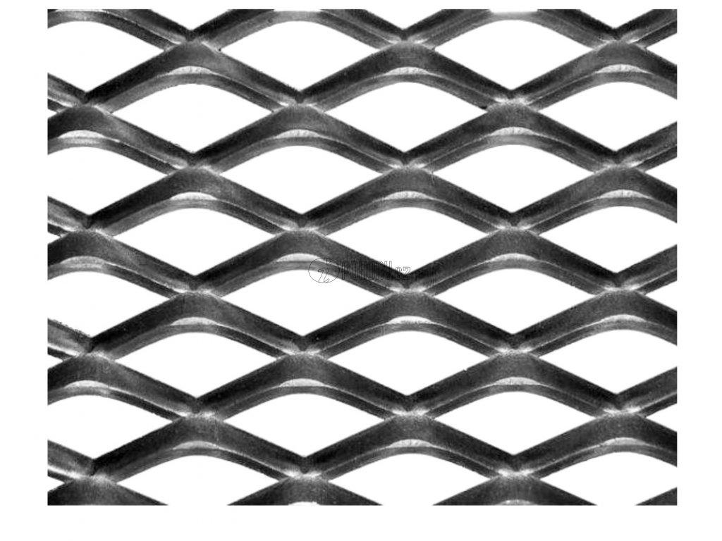 Tahokov Fe kosočtvercová oka: 22x12 mm, můstek: 3 mm