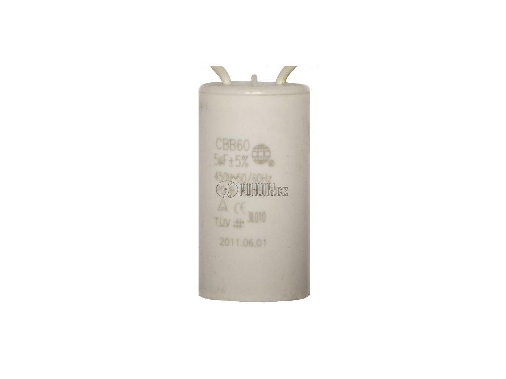 Kondenzátor 5uF pro Wingo 230V - 30.010