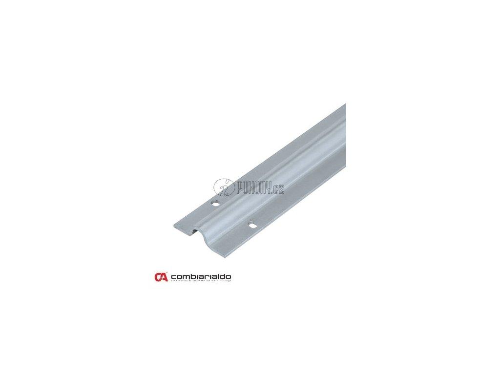Nerezová pojezdová dráha, profil U ø 20 mm pro pojezdové brány - délka 6m