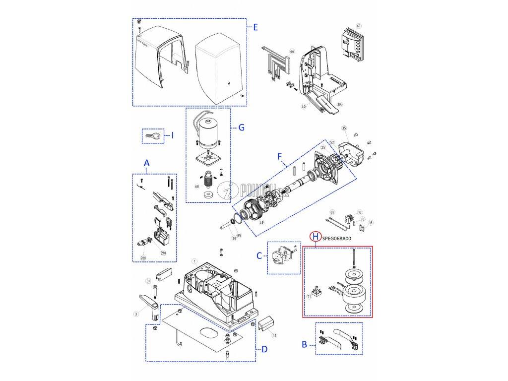 Kit transformátoru a diodového můstku pro ROBUS1000 a RUN1500
