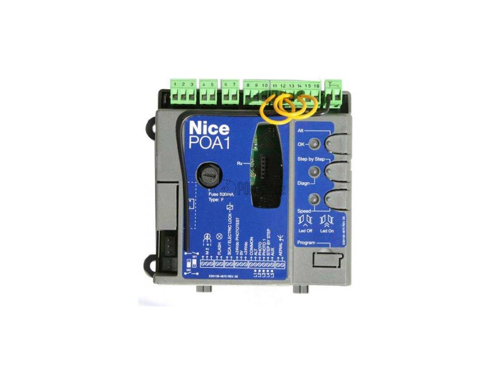 NICE POA1 - řídící jednotka POPKIT pro pohon PP7024