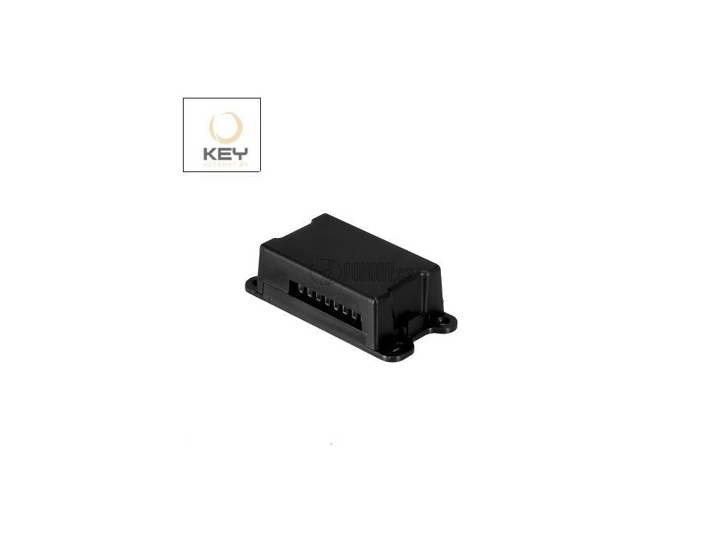 KEY RXM-23 - externí 2-kanálový přijímač s plovoucím i pevným kódem, 433 MHz