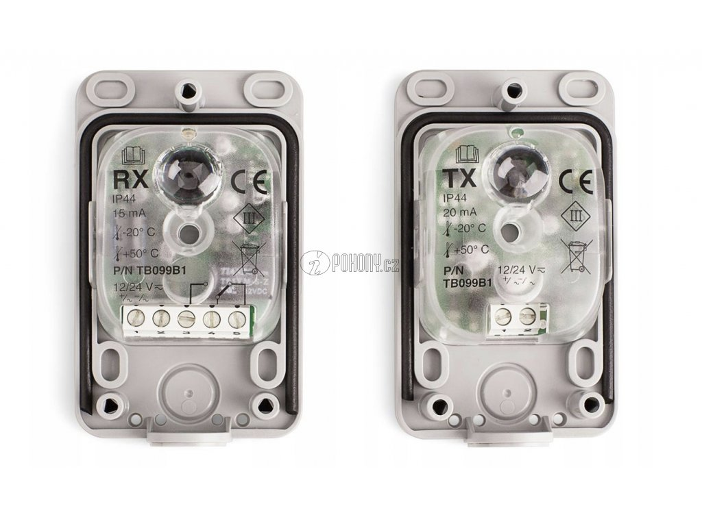 NICE EPM - bezpečnostní fotobuňky, nástupce NICE MOF
