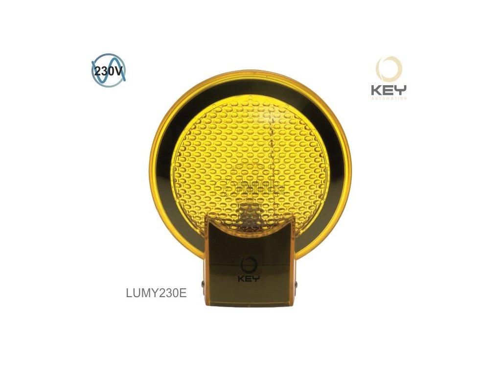 KEY LUMY 230E - výstražný blikající maják , 230V