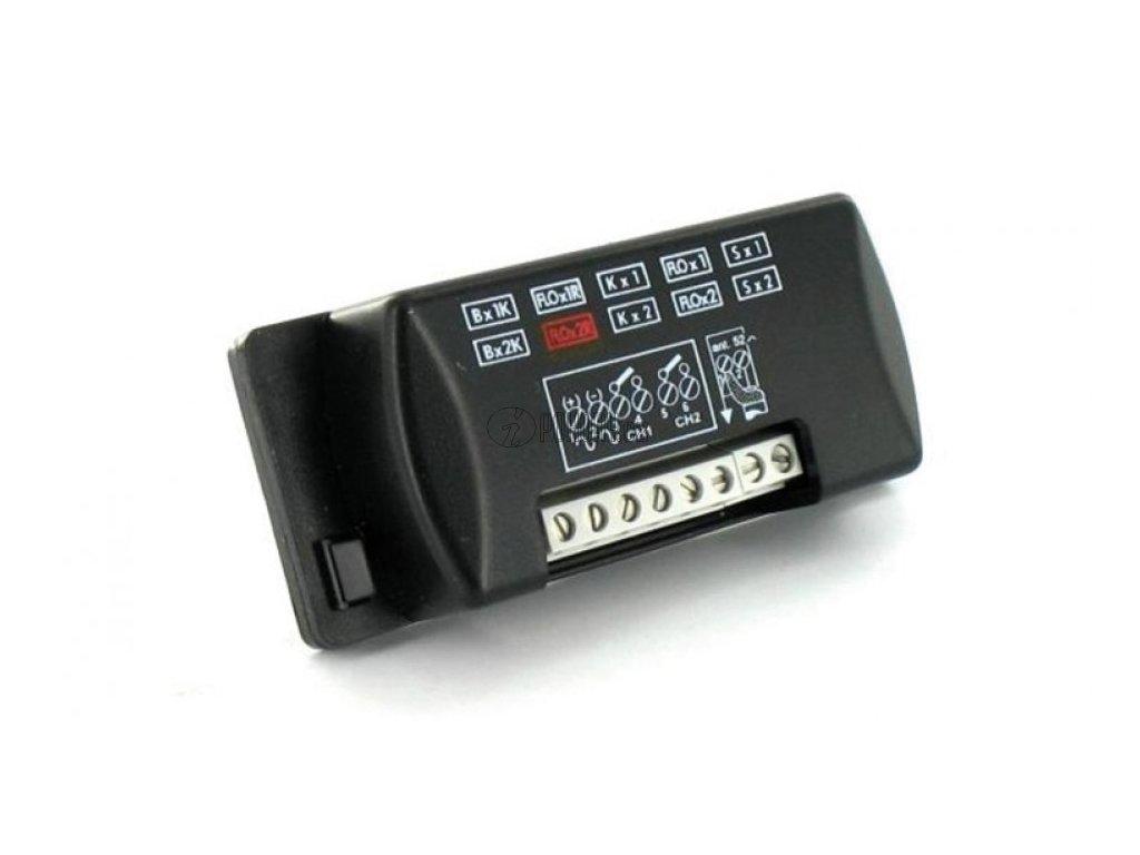 NICE FLOX2R - externí 2-kanálový přijímač s plovoucím kódem, 433 MHz