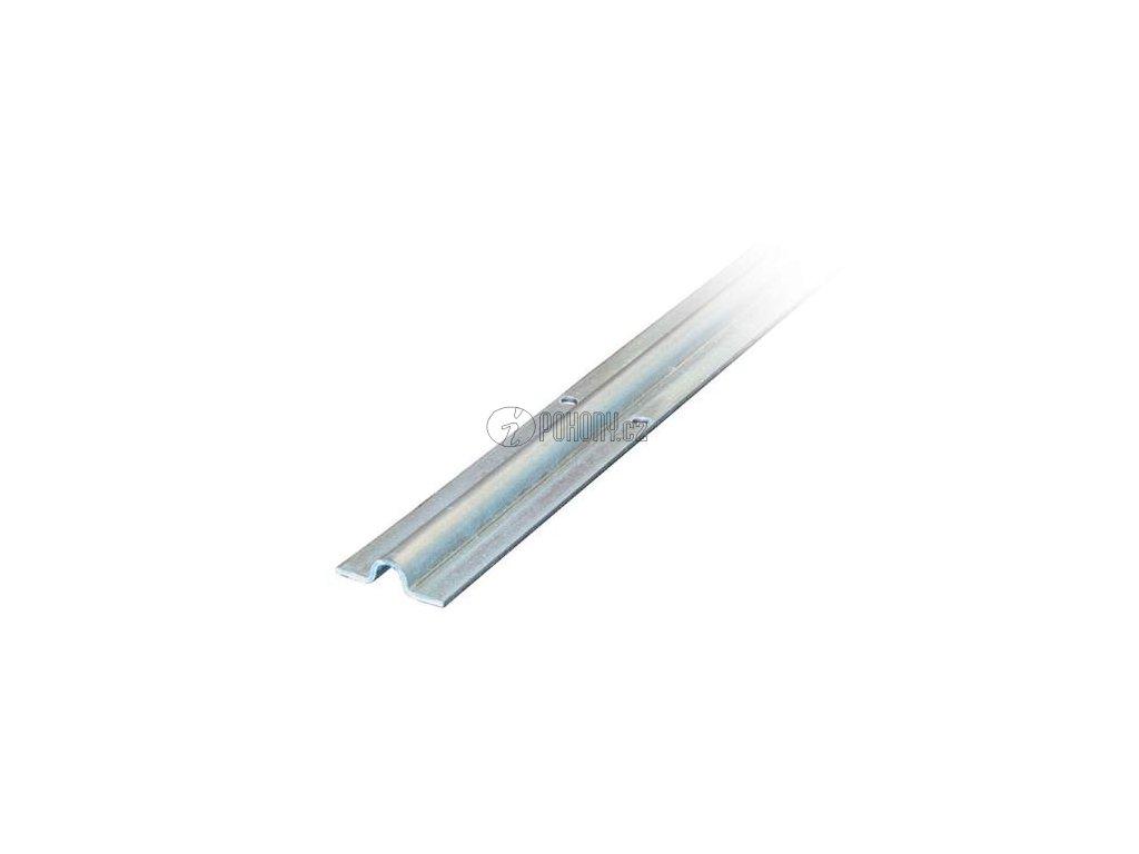 Pojezdová dráha - vodící profil s U drážkou, zinkovaná - délka 3m