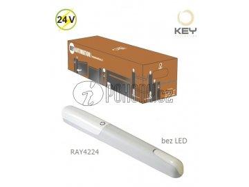 KEY RAY2224 -  samostatný pohon pro křídlovou bránu do 2,5m/křídlo