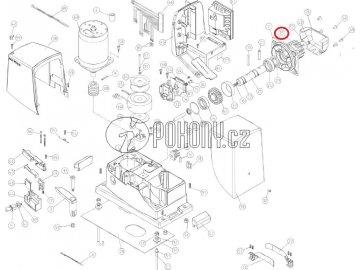 Ozubený pastorek M14 pro pohony Robo/Robus/Rox - PD0710A0000