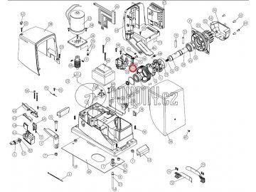 Mikrospínač koncových poloh pro pohony ROBO - MICROI.1617