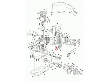 Rozběhový kondenzátor 12uF pro Robo500 - 12U450.0727