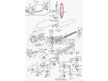 Dvířka odblokování pro pohony MOBY - SMA3