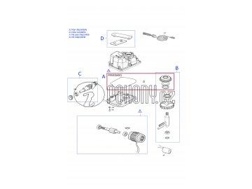 Sada těsnění pro pohon METRO - PRME06R01
