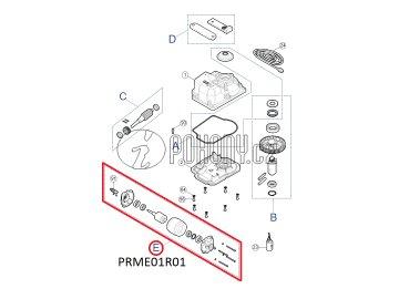 Sada eletromotoru pro pohony METRO - PRME01R01