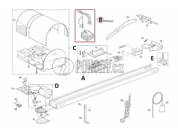 Kit transformátoru pro SHEL75 - PRSH02A
