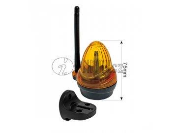 Universální LED maják - výstražný blikající maják , 12V, 24V, 230V