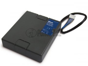 NICE PS324 - záložní zásuvná baterie 24 V s dobíjecí kartou pro MC824H