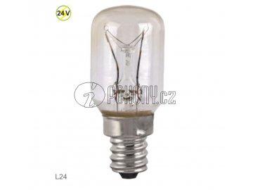 Náhradní žárovka pro maják LUCY24, 24V, 15W, E14