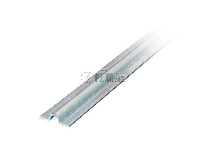 Pojezdová dráha - vodící profil s U drážkou, zinkovaná - délka 6m