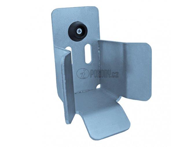 Spodní dojezdová kapsa k c profilu 80x80mm